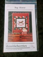 """""""Toy Horse"""" Miniature Quilt Pattern by Thimbleberries"""