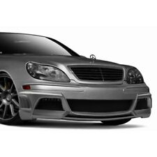 For Mercedes-Benz S350 06 W-3 Style Fiberglass Front Bumper Cover Unpainted