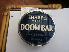 QUALITY ENAMEL BEER PUMP HANDLE CLIP BAR TOP ADVERTISING SIGN DOOMBAR CORNWALL
