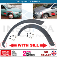 FRONT WHEEL ARCH TRIM SET WITH SILL FOR OPEL VAUXHALL COMBO CORSA C MK2 172436