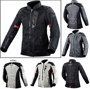 LS2 ALBA Lady Motorcycle Motorbike Textile Touring Jacket