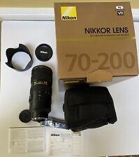 AF-S Nikkor 70-200mm f/2.8G ED VR II (MINT)
