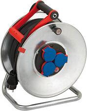 Brennenstuhl 50m Kabeltrommel Garant S IP44 H05RR-F 3G1,5 Gummi