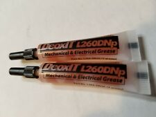 Lot of two New Sealed DeoxIt® DeoxIt L260Dnp Plus Grease 2g sampler tube Caig