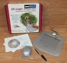 UC-Logic (WP5540M) 3D Graphics Tablet with Cordless Pen and Wireless Mouse