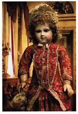 Lot de 11 cartes postales de poupées anciennes