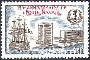 France 1981 Ships/Sailing/Military/Navy/School/Buildings/Transport 1v (n24264)