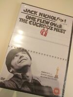 Dvd ONE FLEW OVER THE CUCKCOO'S NEST /JACK NICHOLSON (New  sealed in English)