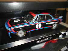 MINICHAMPS BMW 3.0 CSL  BMW-M #1 STUCK/PETERSON WINS NORISRING 1974 1:18