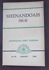Shenandoah  1861 - 62