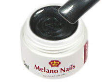Metallic UV Gel Made in Germany 5ml Colour Anthracite Black