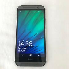 HTC ONE M8 WINDOW VERIZON UNLOCKED 32GB Gunmetal Gray