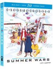 Summer Wars [3 Discs] [Blu-ray/DVD] (Blu-ray Used Like New) BLU-RAY/Incl. DVD