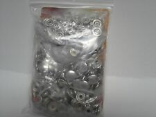 """Genuine Tandy Leather 1263-12 Line 24 Snaps 5/16"""" Post - Nickel Finish 100/pk FS"""