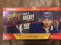 2020-21 Upper Deck Series 2 Hockey 6 Pack Blaster Box PRESALE 4/14/21 In Hand