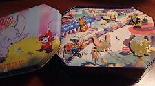 Disney 55th Anniversary Dumbo Stork Mrs Jumbo Crow Dumbo Pin set of 6 in tin box