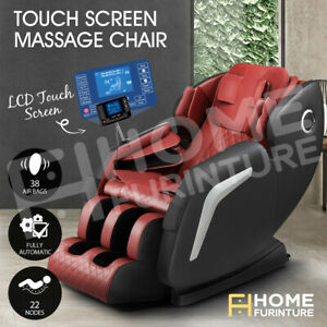 HOMASA Zero-Gravity Full Body Massage Chair Shiatsu Kneading Recliner Massager