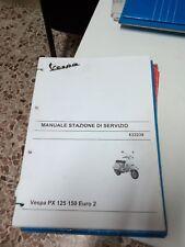 Manuel pour Stations de Servizio-Manutenzione Piaggio Vespa Px 125-150