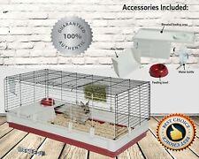 Xl Rabbit Cage Premium Extra Large Pet Guinea Pig Chinchilla Shelter Accessories