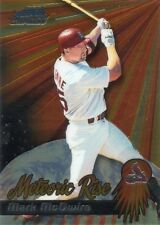 MARK McGWIRE 2000 BOWMAN CHROME METEORIC RISE BASEBALL CARD