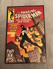 AMAZING SPIDER-MAN #252 RARE MARVEL LEGENDS REPRINT VARIANT!!