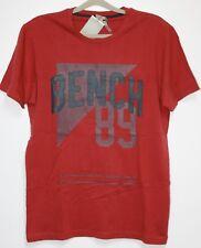 b14. Bench T-shirt avec motif taille XL rouge neuf avec étiquette