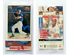 "2002 Baseball 3 Cards ""sealed"" Set - Fleer Topps Donruss - NEVIN PETRICK ROLLINS"