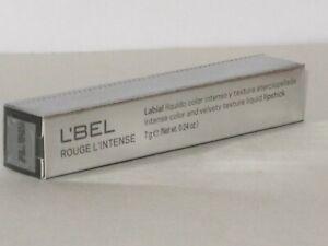 L'BEL ROUGE L'INTENSE COLOR & VELVETY TEXTURE LIQUID LIPSTICK # NUDE  7 g.NEW!