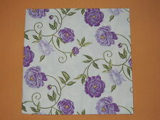 5 stück Servietten PEONY Blumen Viele Ranken Pfingstrosen Serviettentechnik lila