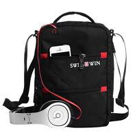 "Swisswin Swiss Men Shoulder Messenger Bag 10"" Tablet PC Satchel 900D Nylon"