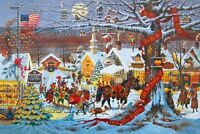 SMALL TOWN CHRISTMAS by CHARLES WYSOCKI ~SALE~
