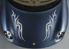 Car Trible Racing Flames Hood decals Vinyl Graphics stickers #CX38