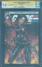 G.I.Joe 204 CGC 3X SS 9.8 Larry Hama Tyndall Rodriguez Jinx Top 1 art sketch