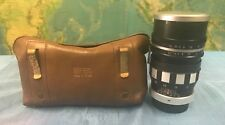 FULLY REFURBISHED 135MM F/2.8 AETNA COLIGON M42 MOUNT LENS WITH CASE & MORE !!