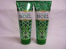 Bath & Body Works (2) VANILLA BEAN NOEL Body Cream Ultra Shea 24 Hour Moisture