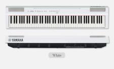 Yamaha P-125 Digital Piano 88-Key Graded Hammer 26lbs 133x16x30cm 110/220V White