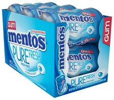 MENTOS PURE FRESH SUGAR FREE MINTS CHEWING GUM 50PCS - 6CT TO PACKET