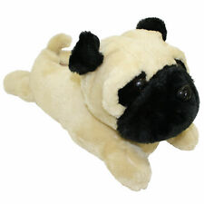 Novelty Character Pug Dog Slippers Warm Padded Ideal Christmas Gift Kids Ladies