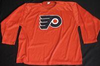 Rare Vtg 60s 70s Philadelphia Flyers Jersey Nylon Shirt CCM NHL HOCKEY Sz XL