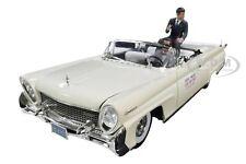 1958 LINCOLN CONTINENTAL MKIII W/DRIVER & J.F. KENNEDY FIGURES 1/18 SUNSTAR 4707