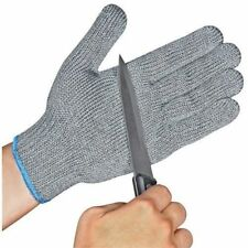1 pair Safety Cut Proof AntiCut Resistant Kitchen Butcher Gloves Level 5 M Size