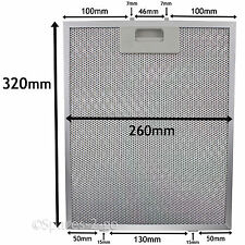 Metal Mesh filter For ROSIERES Cooker Hood Extractor Vent Fan 320 x 260mm