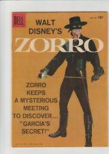Zorro #933 Vg+ 1958 Dell Comic Disney Toth art photo cover