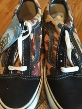 Vans Vintage Camouflage Shoes Size 6 Men's Women's 7.5 New In Box HTF