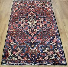 OLD WOOL HAND MADE PERSIAN ORIENTAL FLORAL RUNNER AREA RUG CARPET 166x90CM