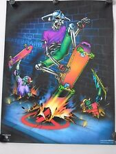 No Skateboards - Orig.Vintage poster / Exc. New cond. / 22 1/2 x 29 3/4""