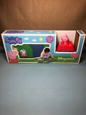 "NEW: Peppa Pig Megamat 31.5"" X 27.5"" W/ 1 Vehicle Felt Mat 3+ FREE SHIPPING"