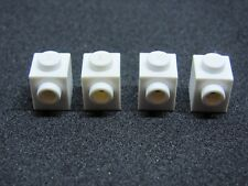LEGO 87087 @@ Brick Modified Stud 1 Side White x 4 3182 7962 10213 10217 76005