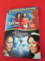 2 Disney's Twitches & Twitches Too - Tamara & Tia Mowry DVD (2 Movie Collection)