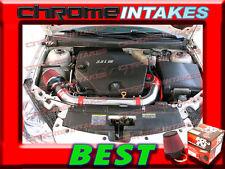 K&N+RED 06 07 08 09 CHEVY MALIBU/PONTAIC G6 3.9 3.9L V6 FULL AIR INTAKE KIT